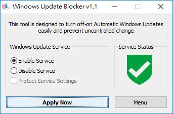 Windows Update blocker 關閉或開啟 Windows 自動更新免費工具